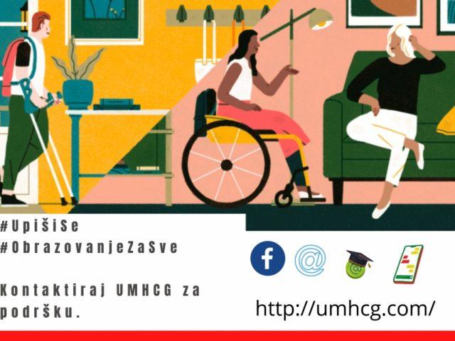 Najava: UMHCG započinje kampanju za upis na fakultet