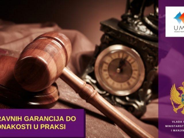 """NAJAVA: Okrugli sto """"Od pravnih garancija do jednakosti u praksi"""""""