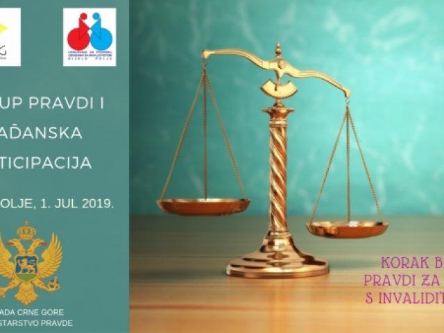 Najava obuke o pristupu pravdi i građanskoj participaciji