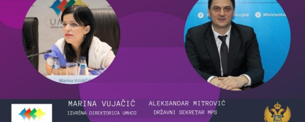 """POZIV ZA MEDIJE: Okrugli sto """"Značaj sticanja visokog obrazovanja za mlade s invaliditetom u Crnoj Gori"""""""