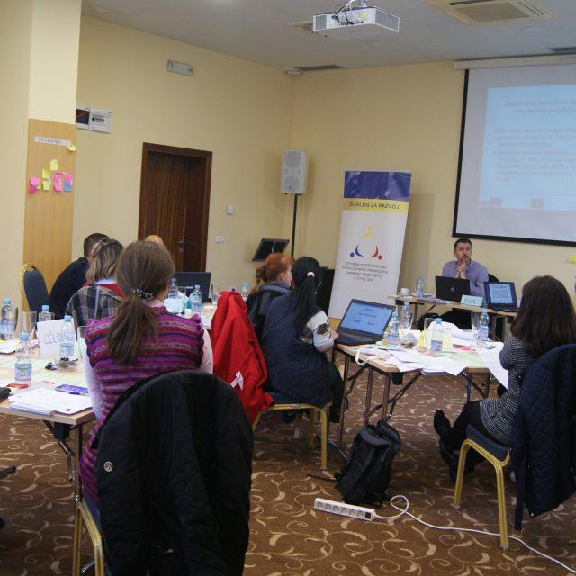 """Saopštenje o treningu trenera na temu """"Finansiranje projekata i programa NVO iz državnog budžeta"""""""