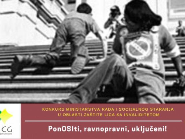 UMHCG započinje realizaciju projekta PonOSIti, ravnopravni, uključeni!