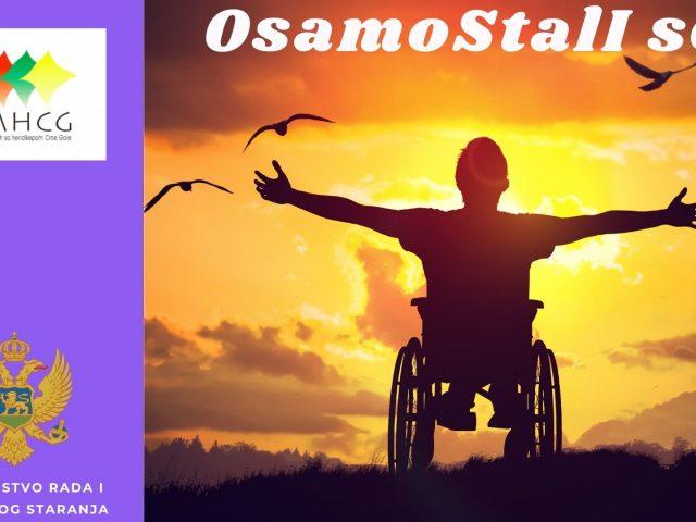 Najava: UMHCG započinje realizaciju projekta OsamoStalI se!