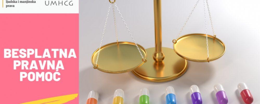 NAJAVA: Besplatno pravno savjetovalište i besplatna pravna pomoć za OSI