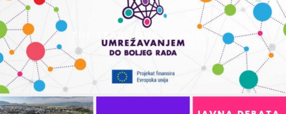 """NAJAVA: Javna debata """"Aktivne lokalne samouprave u zaštiti od diskriminacije OSI"""""""