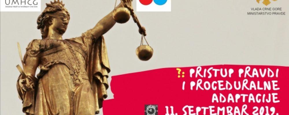 NAJAVA: Obuka o ljudskim pravima OSI i načinima obezbjeđivanja razumnih i proceduralnih adaptacija