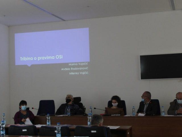 Održana Tribina o pravima OSI i Info dan s poslodavcima o zapošljavanju žena s invaliditetom