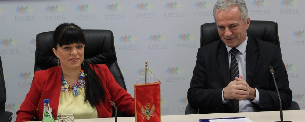 Ministar Purišić uručio licencu Udruženju mladih sa hendikepom Crne Gore