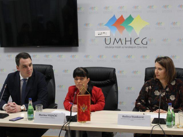 Najava: UMHCG započinje realizaciju projekta Pristupačnim prevozom do promjena (Accessible drive (for) the change)!