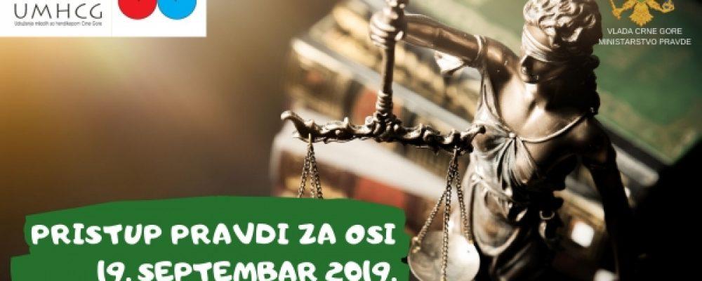 "NAJAVA: Konferencija ""Pristup pravdi za OSI"""