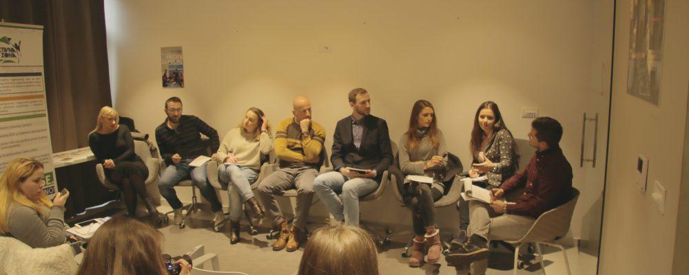 "Organizovana panel diskusija  ,,Mladi i mediji – statisti, akteri ili konzumenti"""