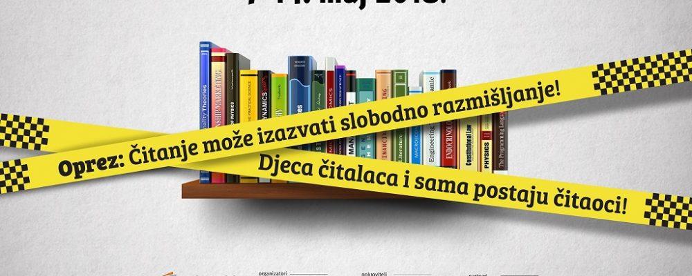 """""""Oprez, čitanje može izazvati slobodno razmišljanje"""" – XIII Međunarodni sajam knjiga i obrazovanja"""